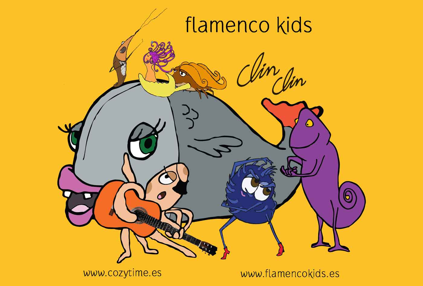 FLAMENCO KIDS EN QUILLOLANDIA